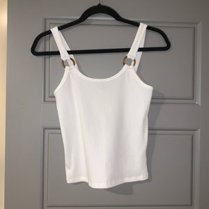NWT forever 21 tank top with tortoise accents